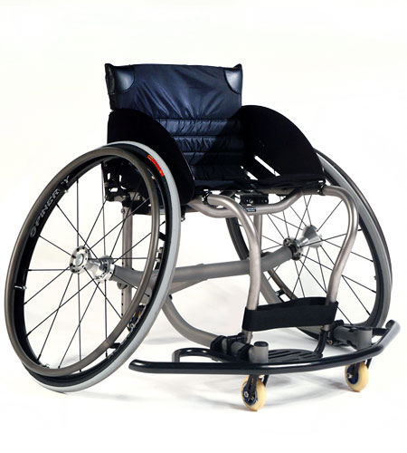 """Quickie """"All Court"""" Basketball Wheelchair (Adjustable)"""